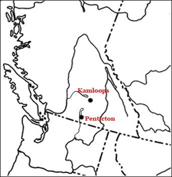 Figure 4 shows the distribution of the Nugget Moss in Canada.